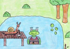 08 - Schnecke und Frosch