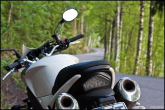 Riding around