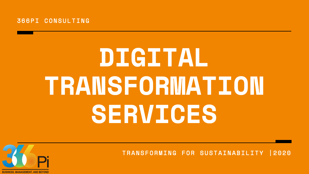 DIGITAL TRANSFORMATION SERVICES By 366Pi