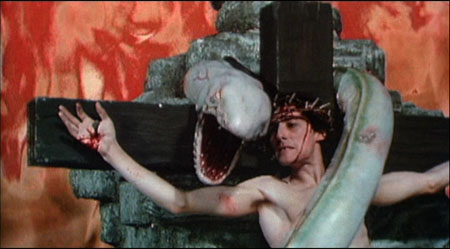 Still from Lair of the White Worm (1988)