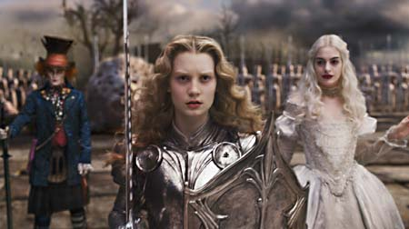 Still from Alice in Wonderland (2010)