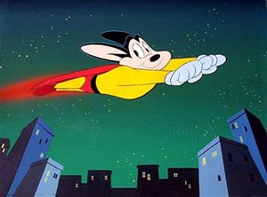 Still from The New Adventures of Mighty Mouse