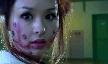 Still from Vampire Girl vs. Frankenstein Girl