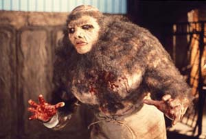 Still from Frankenstein and the Monster from Hell (1974)