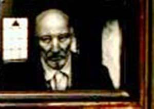 Closeup of father