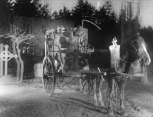 Still from The Phantom Carriage (1921)