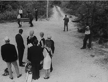 Still from A Report on the Party and Guests (1966)
