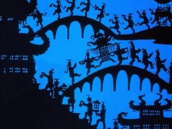 Still from The Adventures of Prince Achmed (1926)