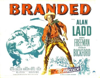 Poster for Branded (1950)