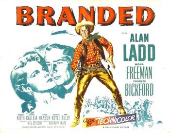 Poster for Branded (1950)