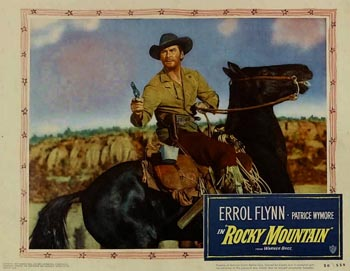 Poster from Rocky Mountain (1950)