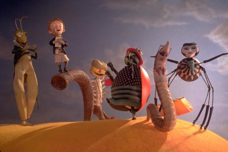 Still from James and the Giant Peach (1996)