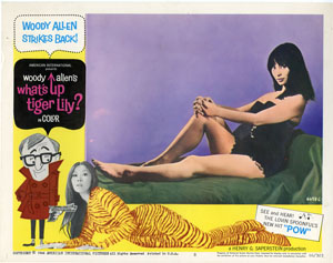 Poster from What's Up Tiger Lily (1966)
