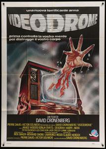 Videodrome (1983) Italian poster