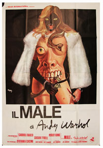 Andy Warhol's Bad Italian poster