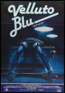 Blue Velvet (1986) Italian poster