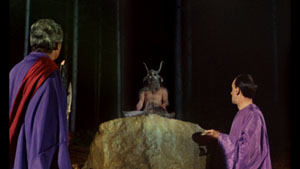 Still from The Devil Rides Out (1968)
