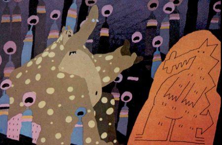 Still from Grendel Grendel Grendel (1981)