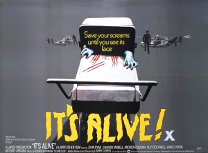 Poster for It's Alive (1974)