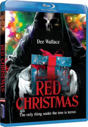 Blu-ray cover for RED CHRISTMAS