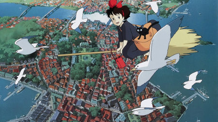 Still from Kiki's Delivery Service (1989)