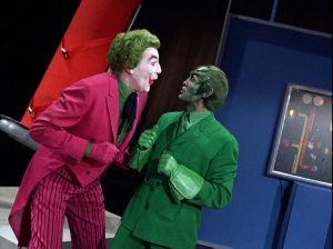 """Scene from """"The Joker's Flying Saucer"""""""