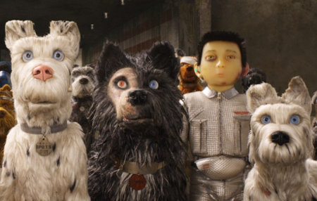 Still from Isle of Dogs