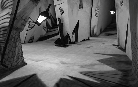 Still from The Cabinet of Dr. Caligari (1920)