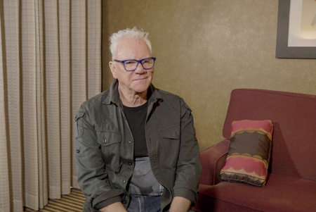 Malcolm McDowell in Time Warp the Greatest Cult Movies of All Time, Vol 2 - Horror and Sci-Fi