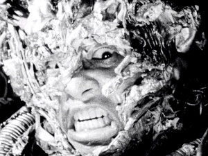 Still from Tetsuo the Iron Man (1989)