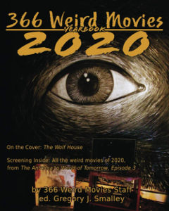 366 Weird Movies 2020 Yearbook Cover
