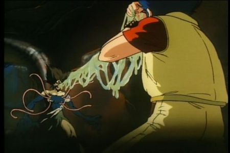 Still from UROTSUKIDŌJI: LEGEND OF THE OVERFIEND (1987-1989)