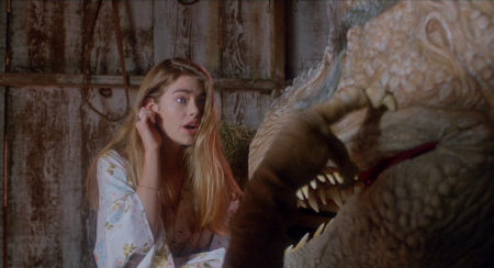 Still from Tammy and the T-rex (1994)