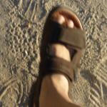 piede sandalo