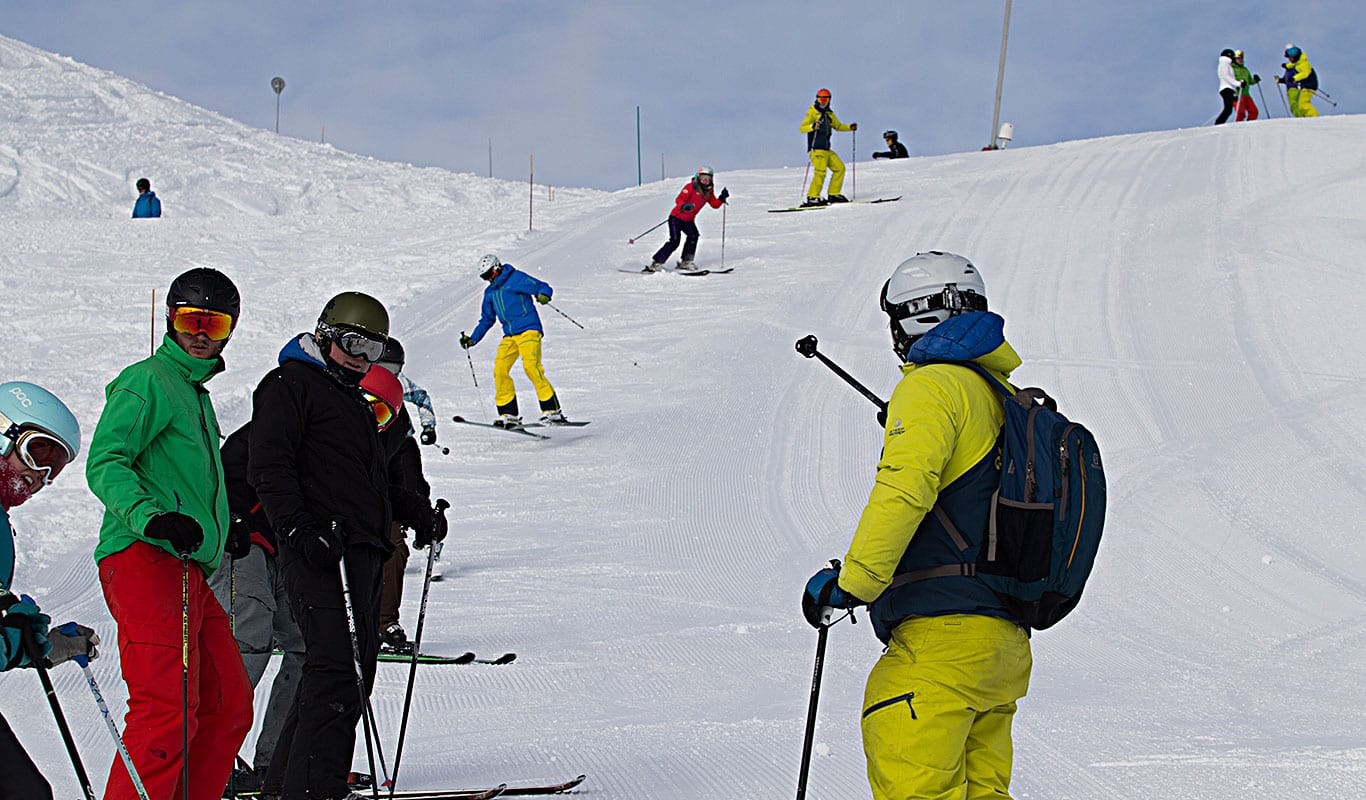 How to become a ski instructor The BASI 1 modules