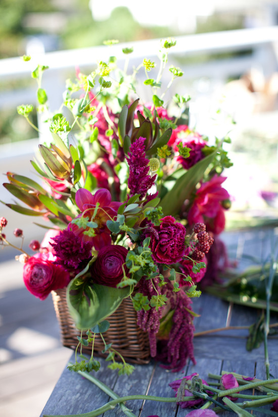 How To Make a Lush Floral Centerpiece  A Practical Wedding
