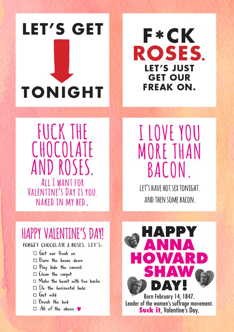 Get Down N Dirty With These Textable Valentine E Cards