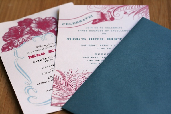 Diy Printed Wedding Invitations