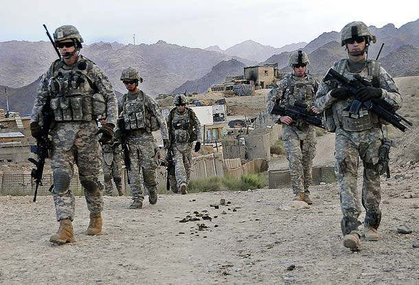 US Army Solidiers in Afghanistan