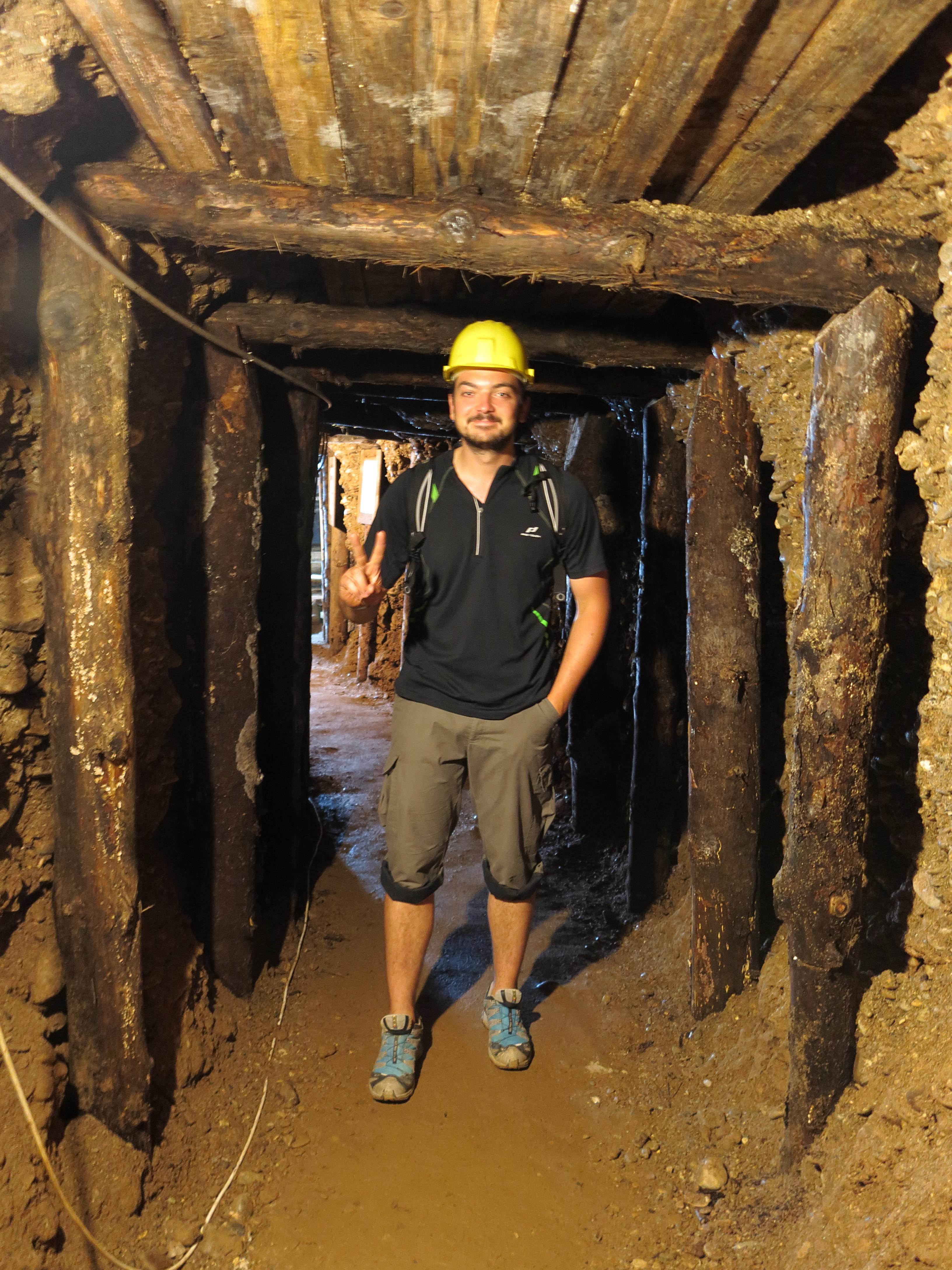 professional mine worker Baumi