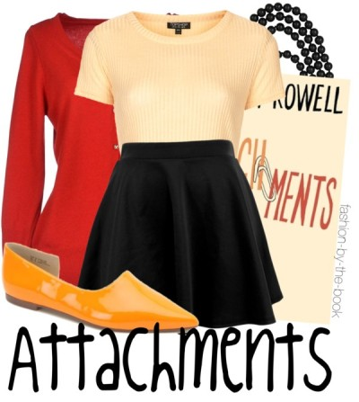"""Attachments by Rainbow Rowell<br /><br /><br /><br /><br /> Find it here<br /><br /><br /><br /><br /> """"There are moments when you can't believe something wonderful is happening. And there are moments when your entire consciousness is filled with knowing absolutely that something wonderful is happening."""""""