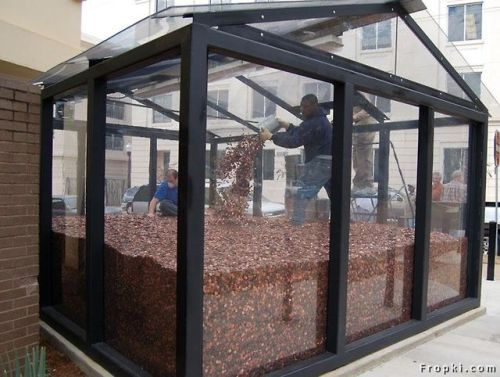 """timestridesforbowties:  glowcloud:  seraphknights:  cultureshift:  This is the Memorial to the Missingand contains over 50,000,000 pennies to represent the lives of each American child abandoned to abortion by a society and a culture that has embraced their destruction. We must prevent the need to add to this memorial. Take a stand. Get involved. """"How we treat the least of us defines us.""""  """"should I use this $500k to help struggling parents and pregnant people or should I put it in a glass box""""  can somebody break this and give it to some real live kids who are actually starving right now  oh yes, let's make a memorial to remember the lives that never had conscious thought let's make a memorial using real money to represent lives that made absolutely no impact on the earth whatsoever let's just waste all this money in a useless box and start shoving prolife down people's throats instead of actually taking a chance to listen to the teenagers that made a mistake the people who were violated, and had heavier consequences than the scars in their mind the people that didnt know better the people that couldnt afford it the people that didnt want it the people that chose not suffer their lives and the child's life lets build a giant reminder to why humans are not allowed to make their own choices based on biological factors they cannot control lets also just waste a fuck ton of money forno reason."""