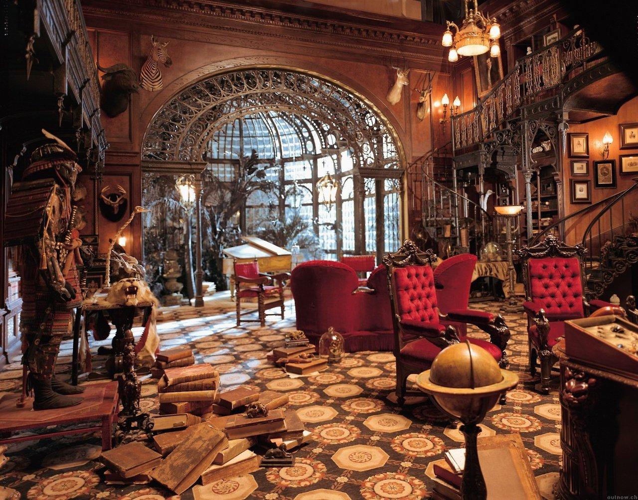 Architecture Interior Design Steampunk Victorian Haunted