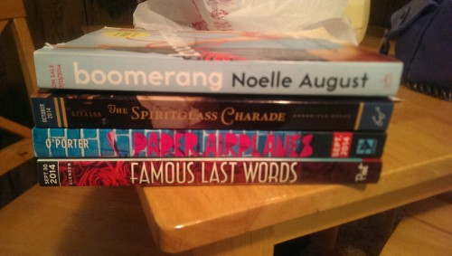 New books 8-9-14