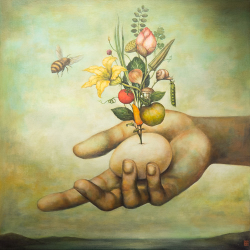 Obra del artista vietnamita Duy Huynh
