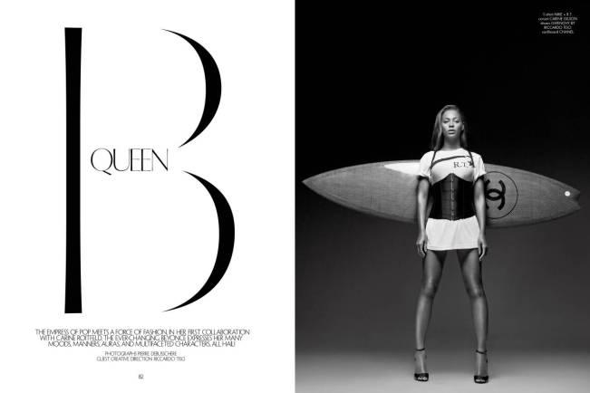 , Beyoncé Slays for CR Fashion Book!