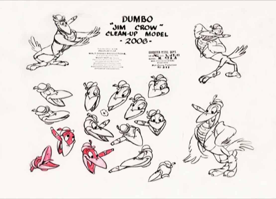 The Art Of Animation Disney Model Sheet Dumbo
