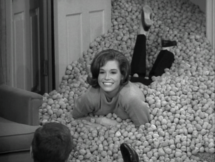 Image result for mary tyler moore on the dick van dyke show (nuts)