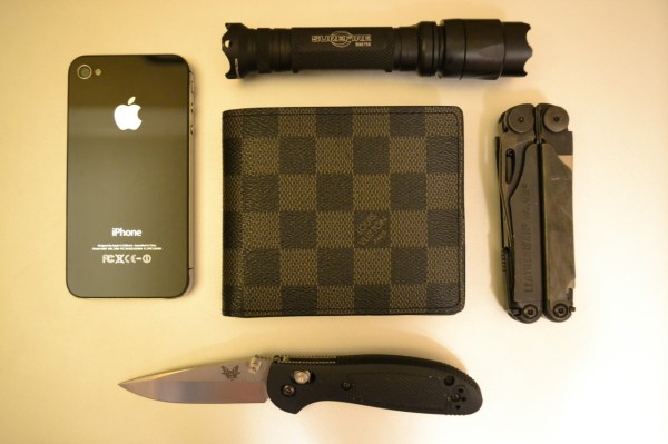 Everyday Carry Pocket Dump - Day