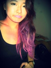 pink ombre hair